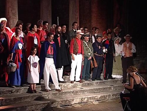 Bruscello Storico 2002 - Davide Lazzaretti, il profeta dell'Amiata