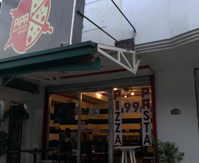 Pipa House Fried Pizza Marikina along E. dela Paz St