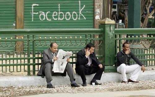 Facebook in Tahrir square | by InsideOut Today - Always Startup