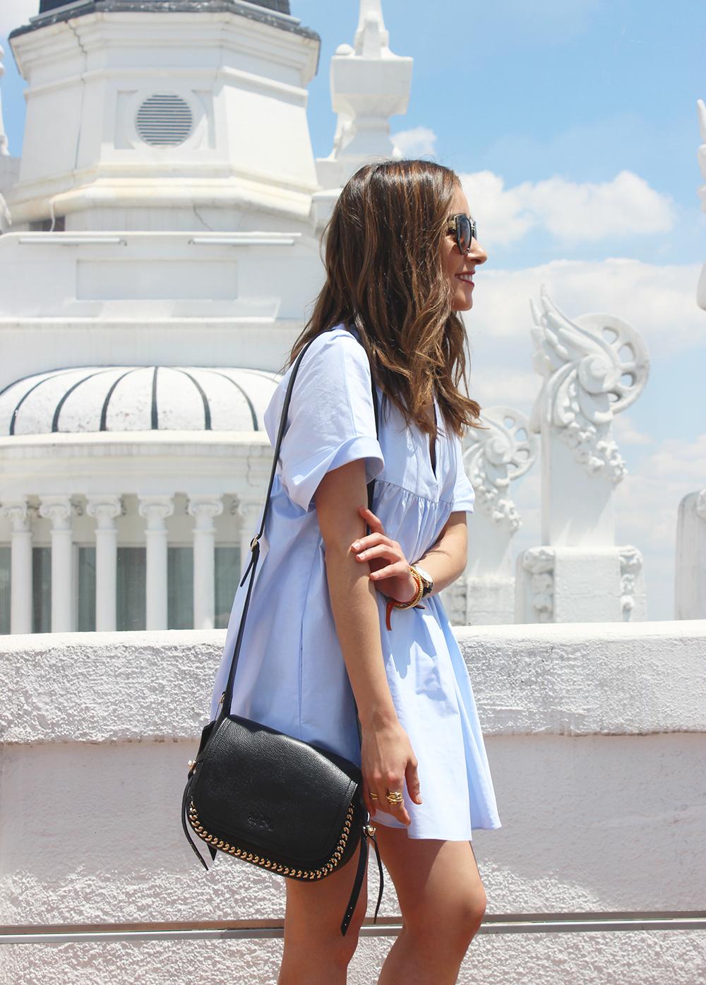 Light Blue Jumpsuit black sandals coach bag aristocrazy accesorries summer outfit03