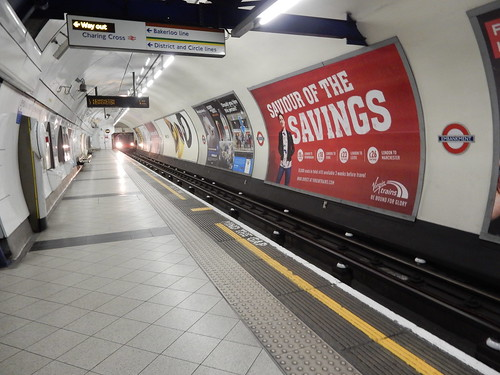 Northern Line, Embankment Underground Station, Charring Cross, London (2)