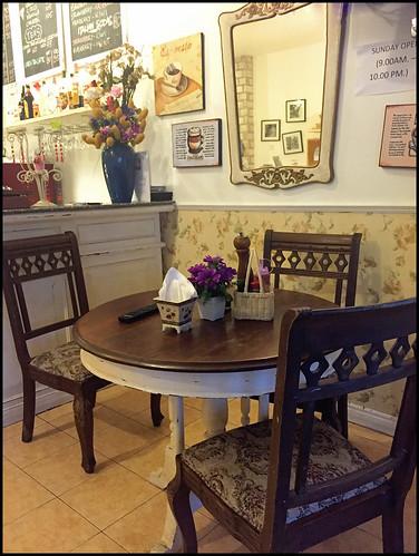 Inside Caffeine Restaurant