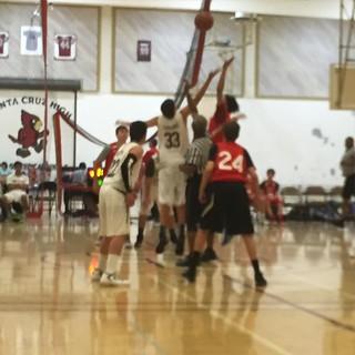 Game 2 #tipoff #basketball