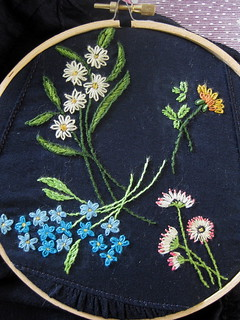 flower embroidery #3 | by CassieBelts