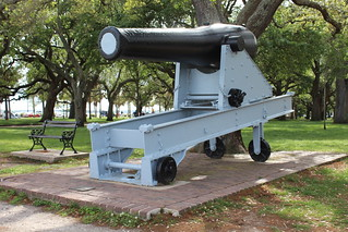Charleston - White Point Garden: Keokuk Gun