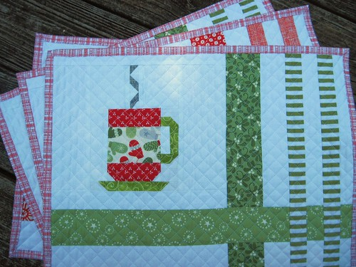 In From the Cold Placemats-steaming mug No. 2