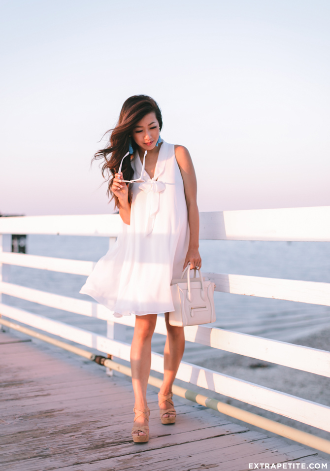all white summer lush nordstrom dress beach outfit