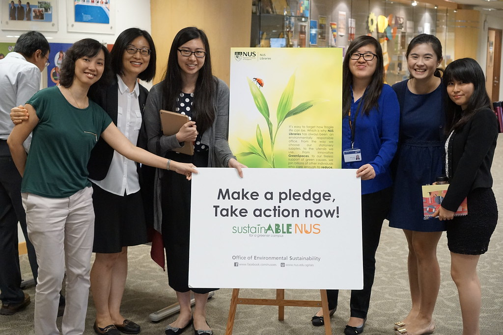 NUS Libraries Cares for the Environment Week 2016