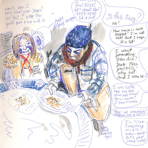 Sketchbook #97: Sketching at a School Event