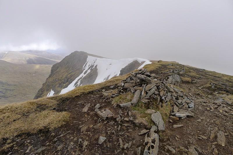 Summit of Sgurr nan Clach Geala