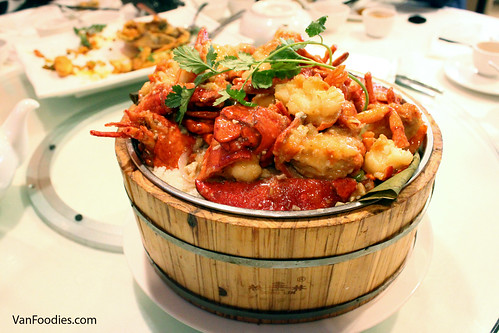 Lobster with Rice Wrapped in Lotus Leaves 荷香龍蝦飯