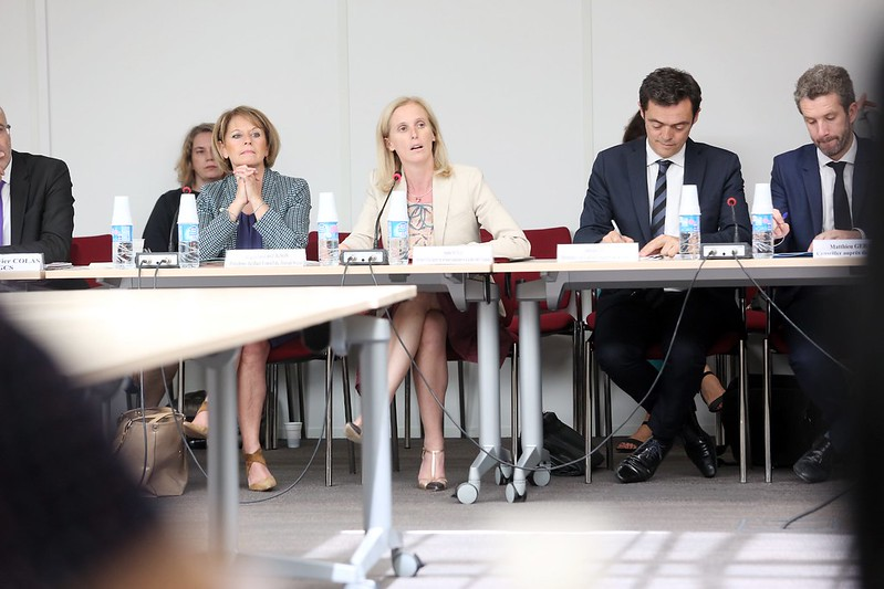 Ségolène Neuville installe le Haut Conseil du Travail Social (HCTS)