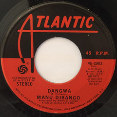 MANU DIBANGO:DANGWA(LABEL SIDE-A)