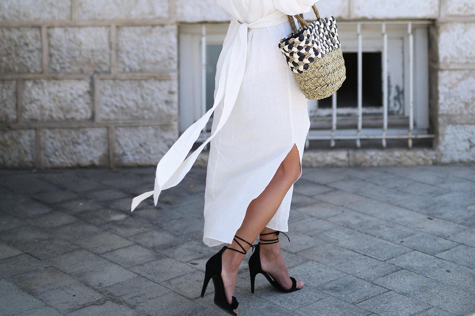 jessie chanes seams for a desire zara vestido lino capazo rafia-2
