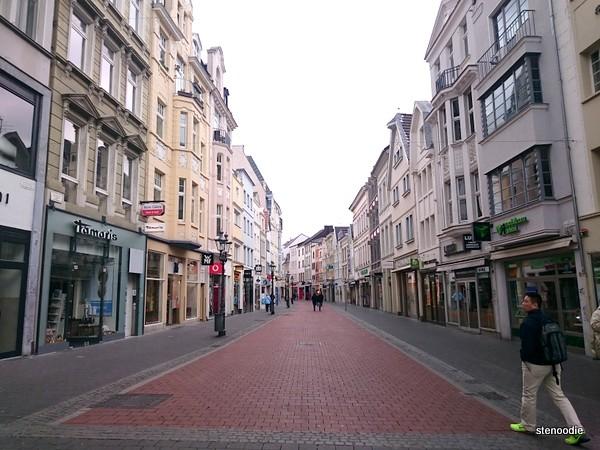 Streets in Bonn