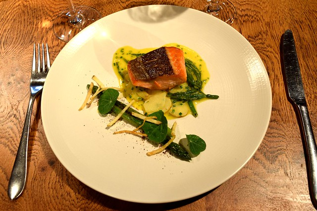 Sea Trout at The Swan, Chapel Down Vineyard | www.rachelphipps.com @rachelphipps