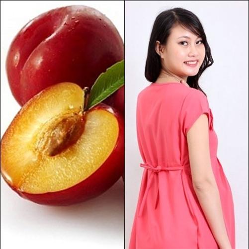 Một số loại quả bà bầu không nên ăn: quả mận