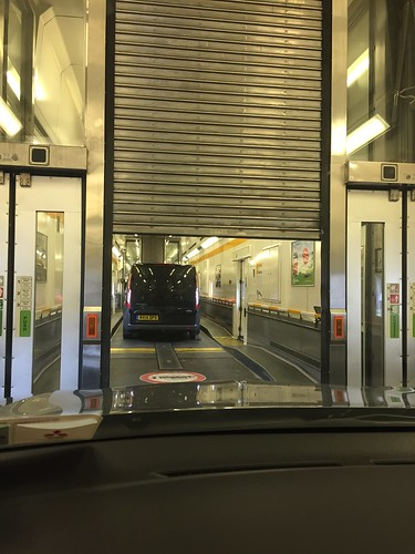 Travelling by the Eurotunnel Train