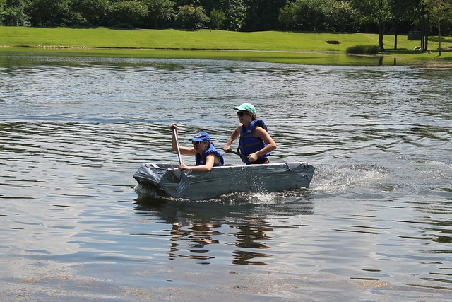 Display Day: 2016 National Concrete Canoe Competition