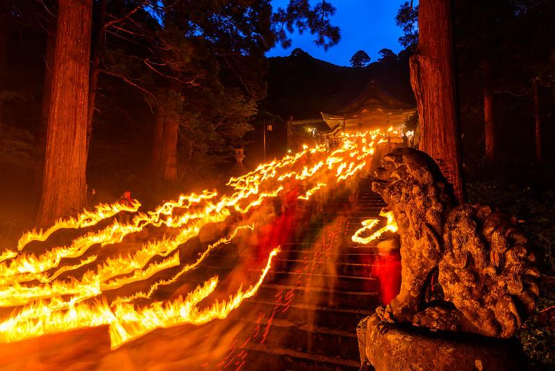 大山夏山開き祭 2016.6-7