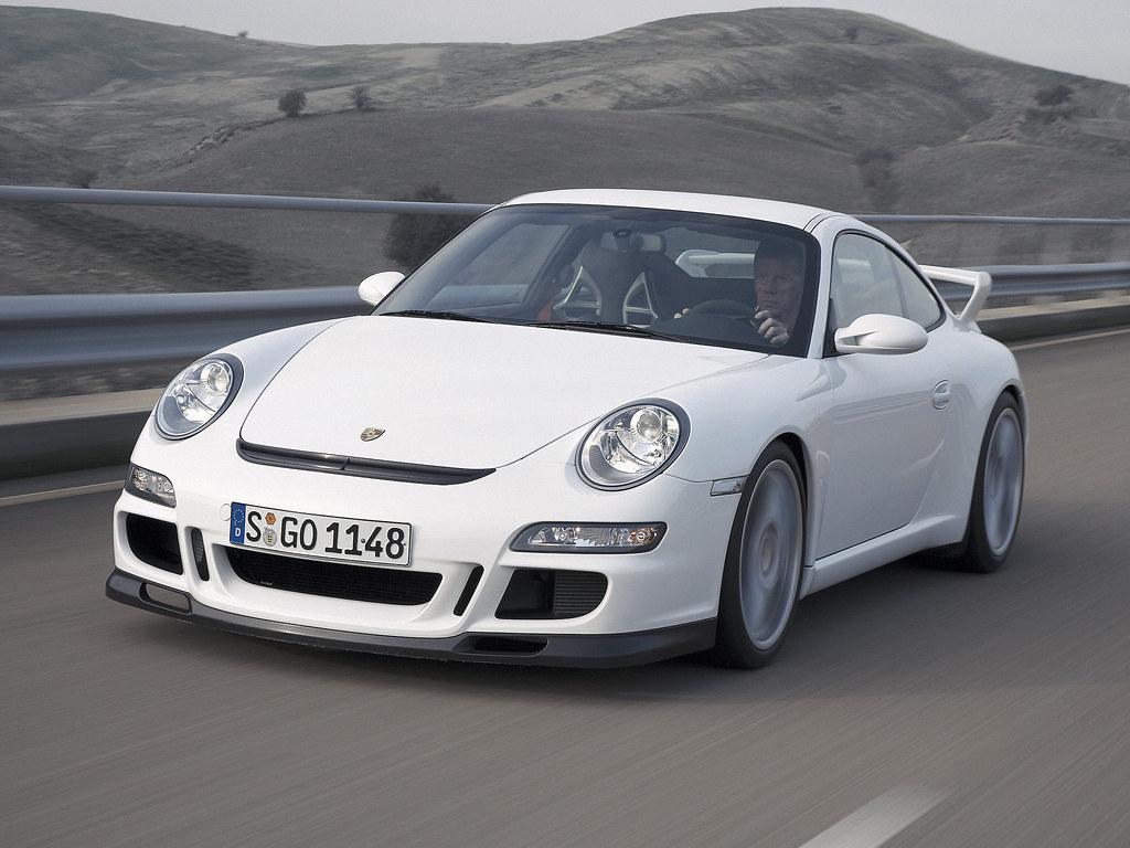 Porsche 911 GT3 (кузов 997). 2006 – 2009 годы