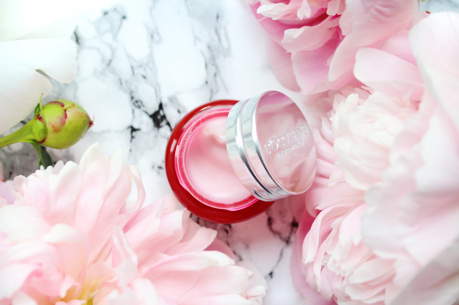 LOccitane peonie line day cream review