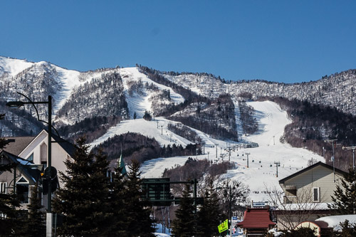 Kitanomine ski resort