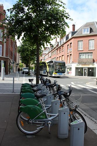 Amiens city bikes