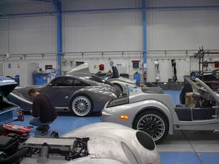 2005 Morgan Factory Visit