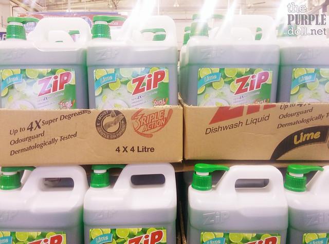 Zip Dishwashing Liquid 4L (P279 95 from P379 95)