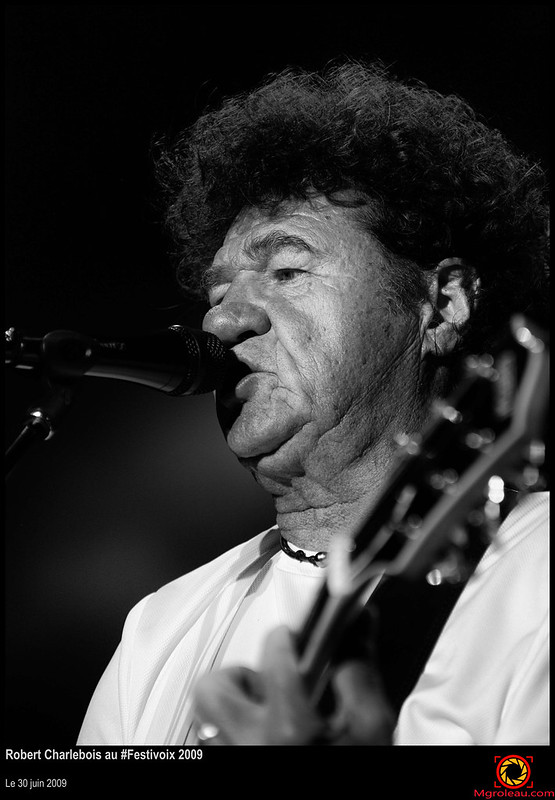 Robert Charlebois au #Festivoix 2009