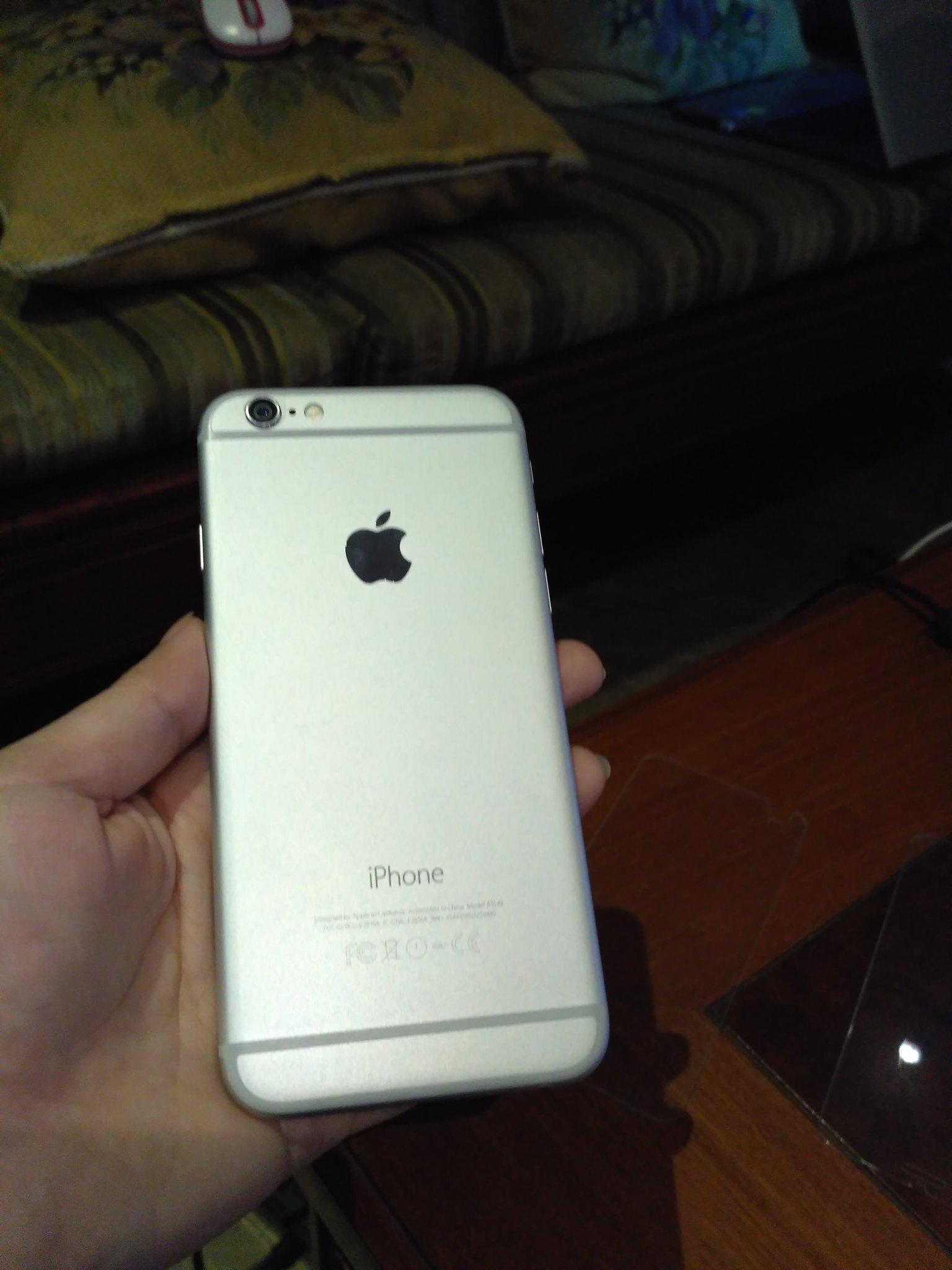iPhone 6 64GB Silver Quốc tế, fullbox, máy đẹp, giá tốt - 1