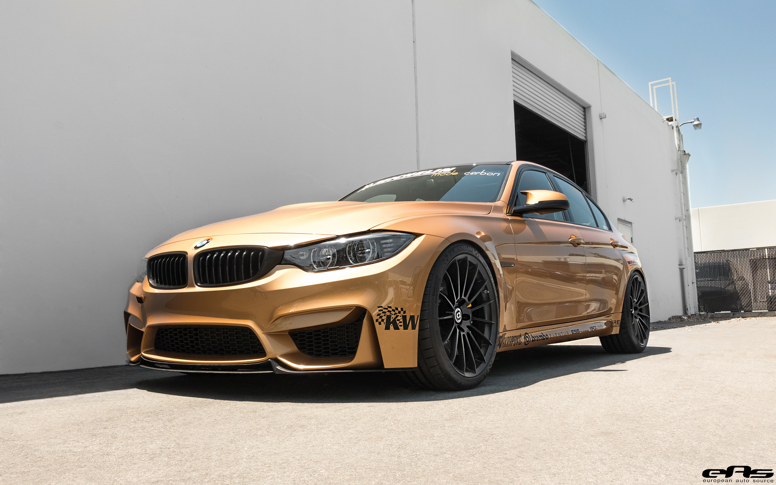Sunburst Gold Metallic Bmw Performance Parts Services