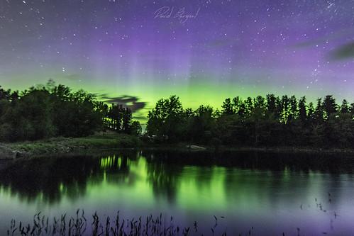 Lake LeVasseur Aurora