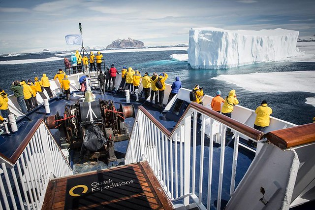 On board a Quark Expedition ship (photo courtesy of Quark)