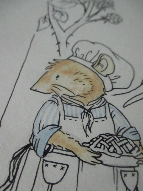 Hedgefairy: Brambly Hedge Tribute - Detail: Piemaker coloured