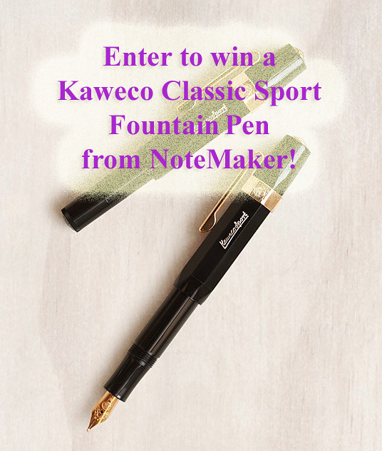 NoteMaker Giveaway Blog