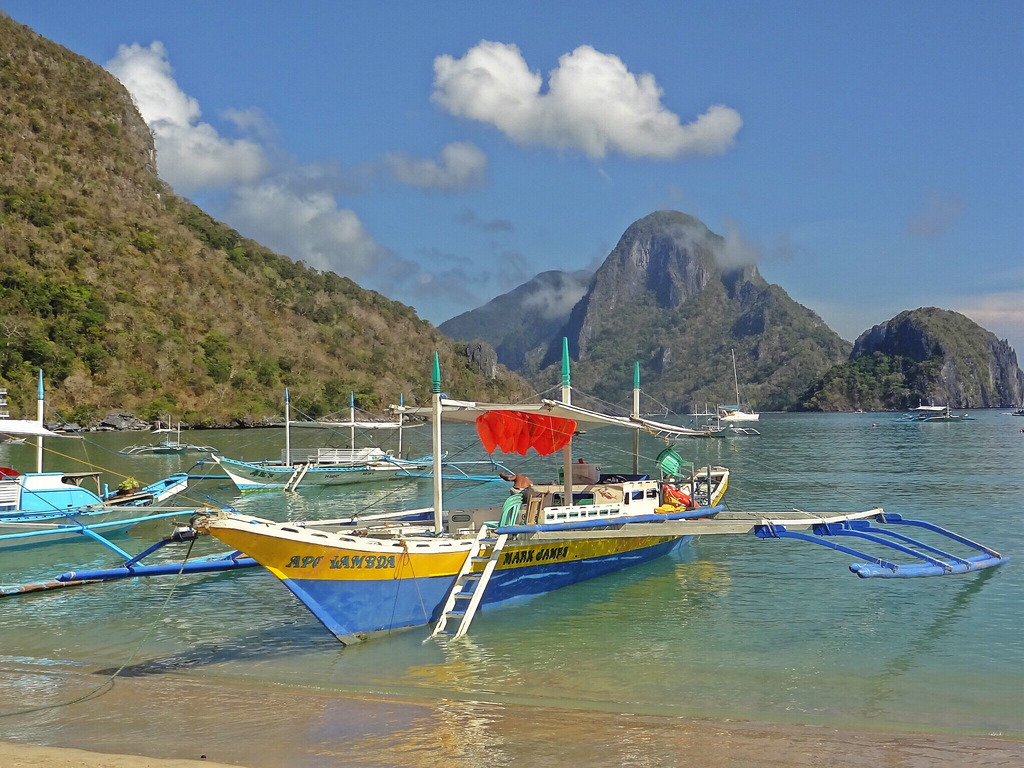 El Nido Bancas - Copyright Travelosio