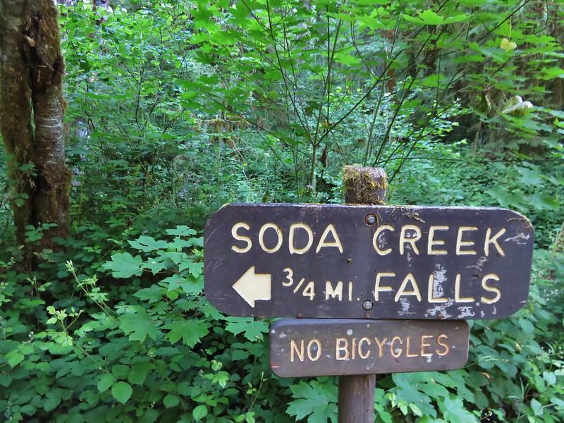Soda Creek Falls Trailhead