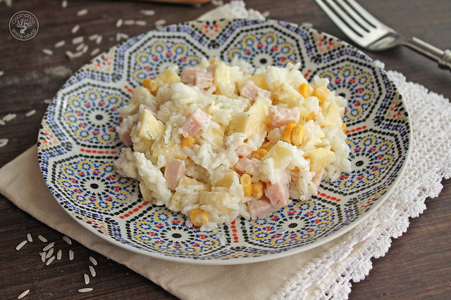 Ensalada de pechuga de pavo, manzana, maíz y yogur www.cocinandoentreolivos.com (13)