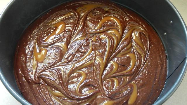 Half-Baked Turtle Cheesecake 7