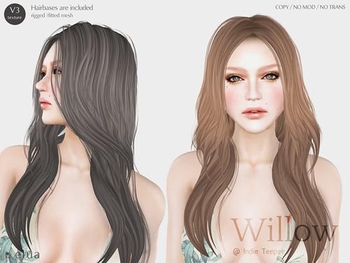 +elua+ Willow@ Indie Teepee