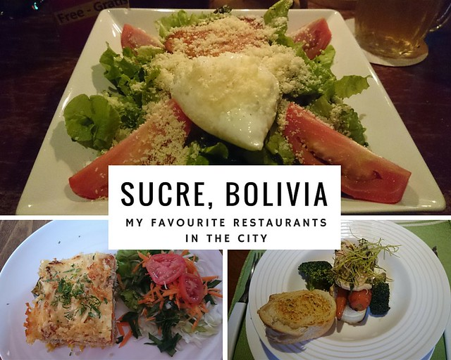 SUCRE BOLIVIA FAVOURITE RESTAURANTS