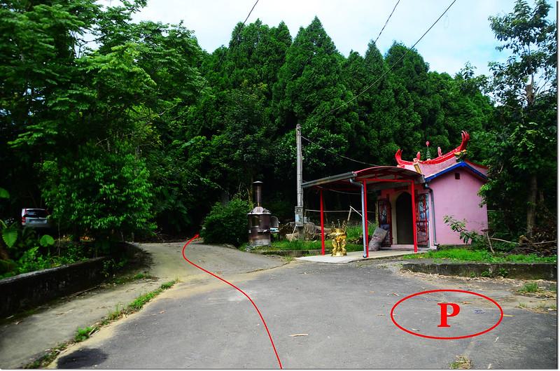 南坪山停車處