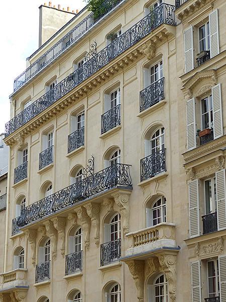 bel immeuble de la rue Ballu