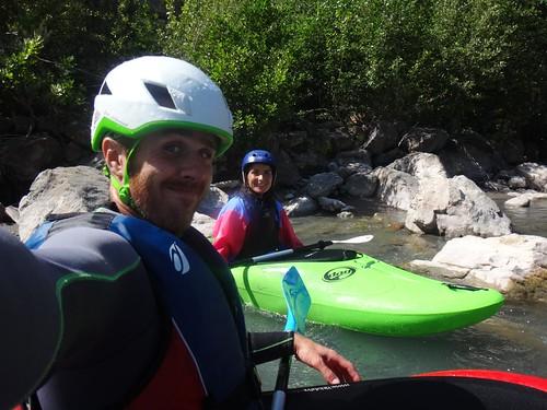 kayak vallée du var