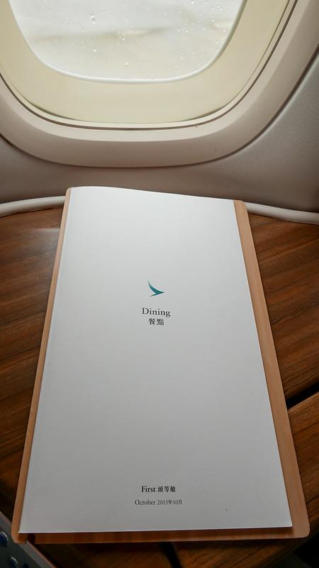 27418813103 bd885b01e2 c - REVIEW - Cathay Pacific : First Class - Tokyo Haneda to Hong Kong (B747)