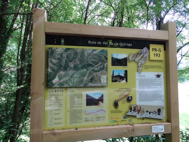 Panel Informativo PR-G 193 Ruta do Val de Quiroga