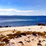 Playa de Melide. Isla de Ons. Galicia.