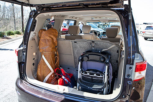 Nissan Quest owners: as rental car - space? - Nissan Forum ...